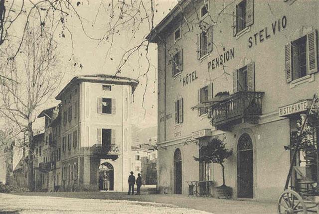 Hotel Pension Stelvio - Fotografia Storica